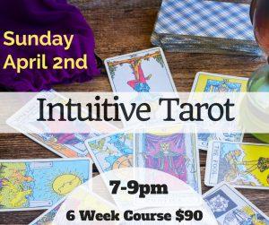 Intuitive Tarot - six week class @ Avalon Annexe