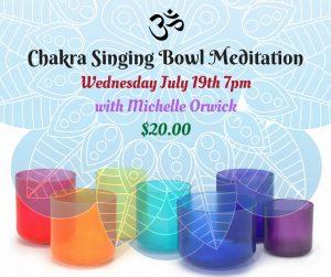 Chakra Crystal Singing Bowl Meditation @ Avalon Classroom Annex