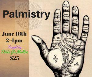 Palmistry @ Avalon Classroom Annexe | Orlando | Florida | United States
