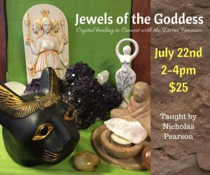 Jewels of the Goddess- Crystal Healing to Connect to the Divine Feminine @ Avalon Annexe